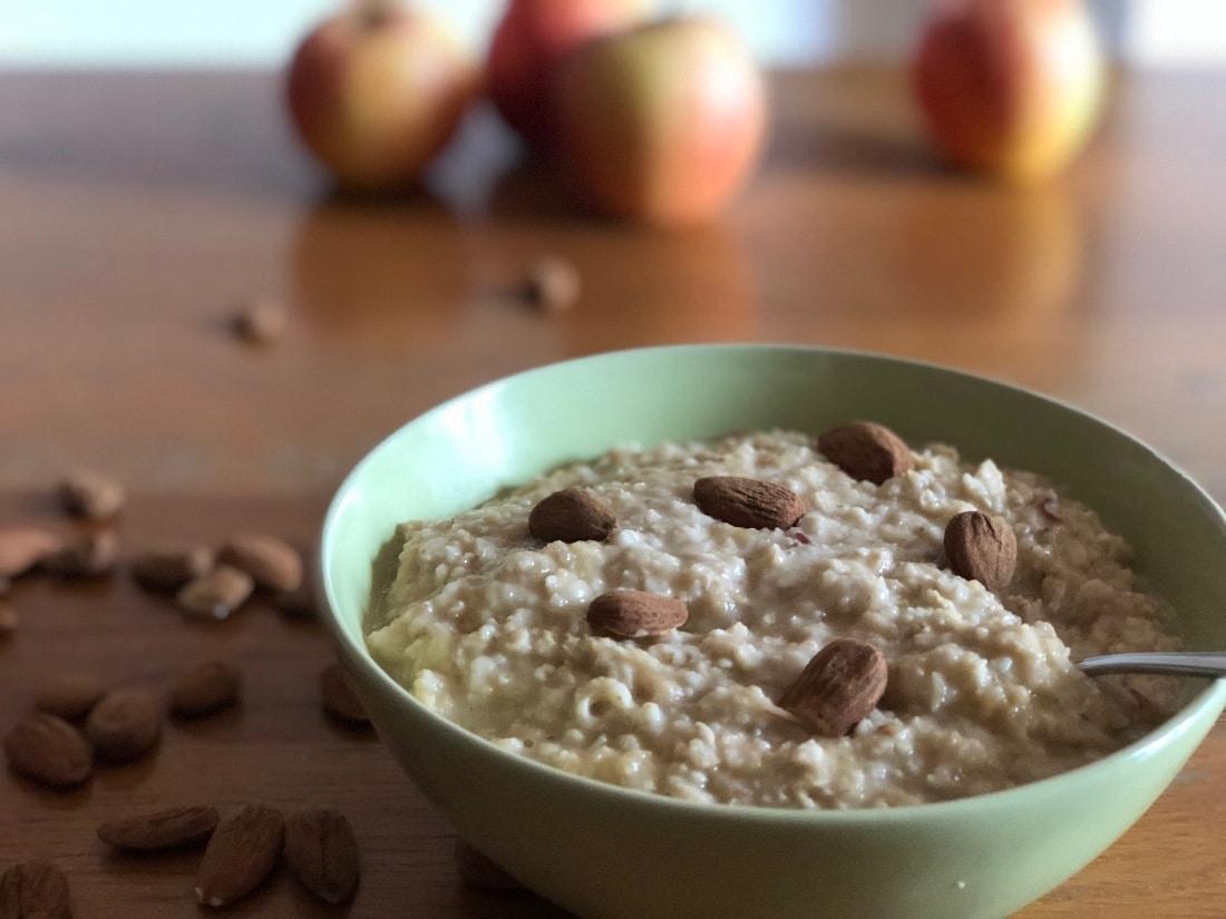 Porridge, nach dem Detox das perfekte Frühstück